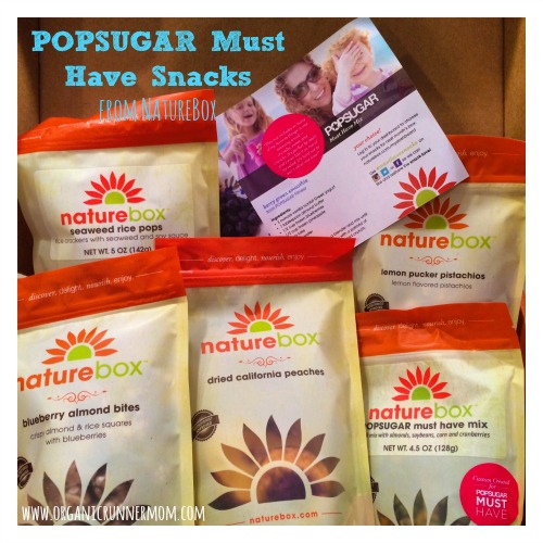 POPSUGAR Must Have Snacks from NatureBox