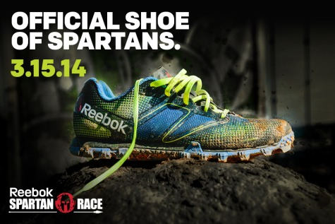 Reebok All Terrain Series. Built Spartan Strong.