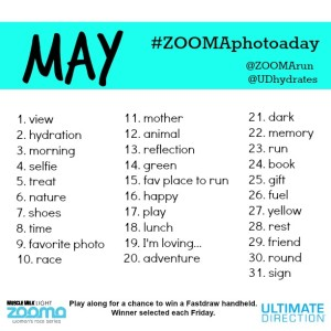 #ZOOMAphotoaday May Contest