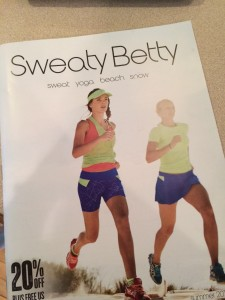 Sweaty Betty Catalogue