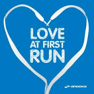 Love at First Run. Brooks Running.