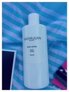 SACHAJUAN Shiny Citrus Body Lotion Retail $24