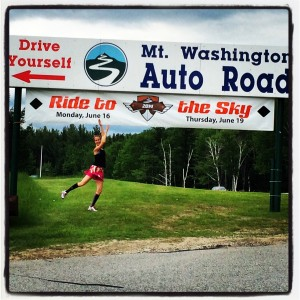 Only One Hill. Mt. Washington Road Race.