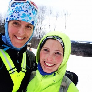 And of course my awesome marathon training partner Bridget!