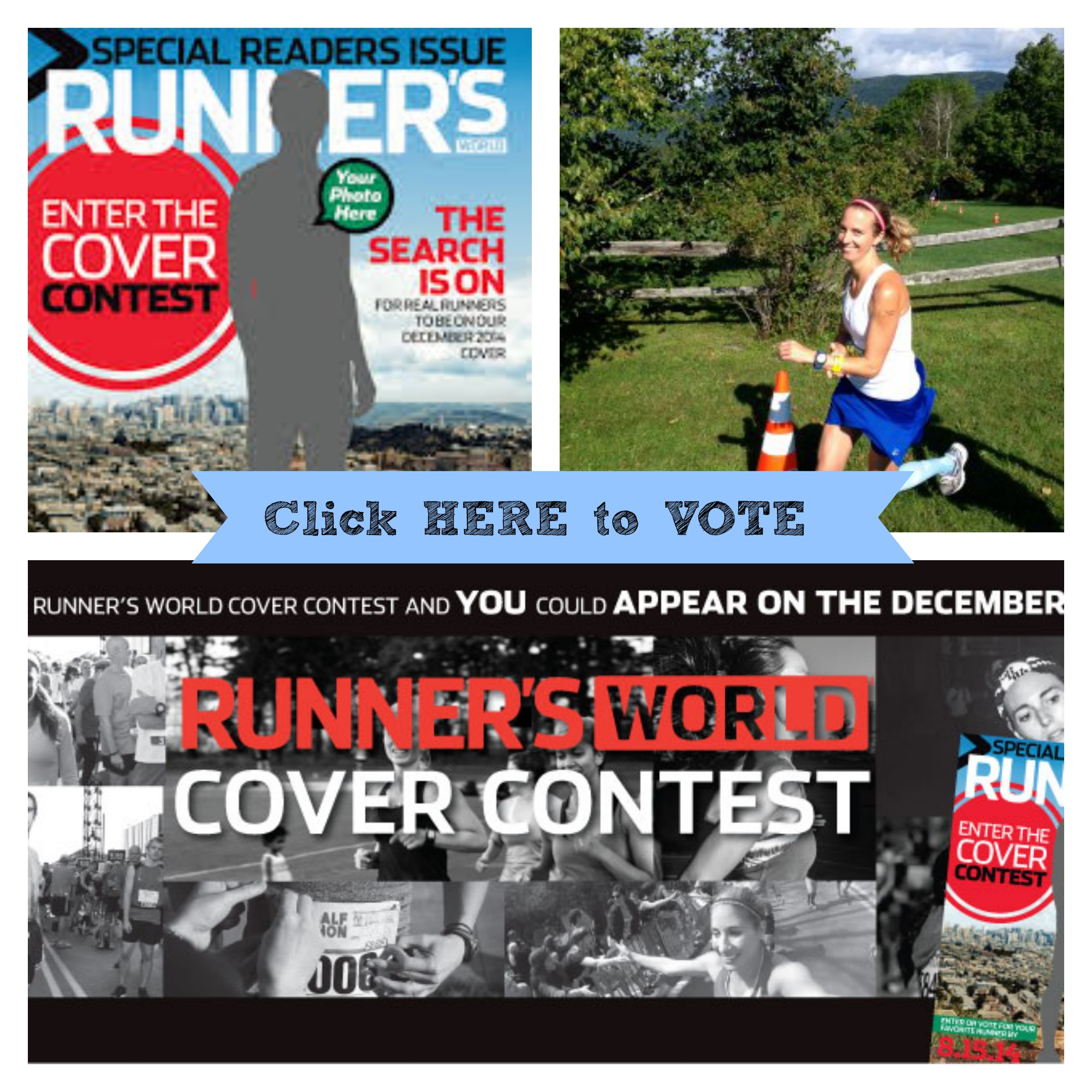 Runner's World Cover Contest Voting