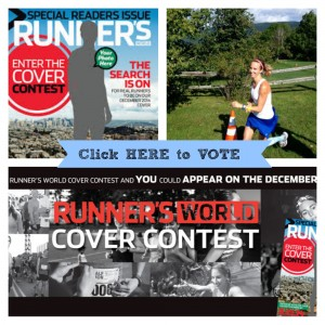 Please vote for Sandra Laflamme to be on the cover of Runner's World Magazine
