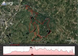 Bear Brook Trail Marathon Course