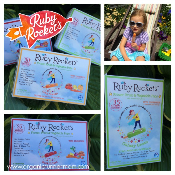 Ruby Rockets Fruit and Veggie Pops
