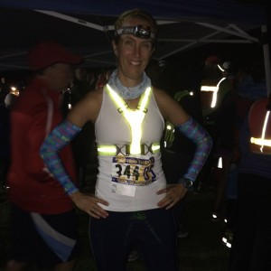 Ready to rock my 9.1 mile night leg at Reach the Beach