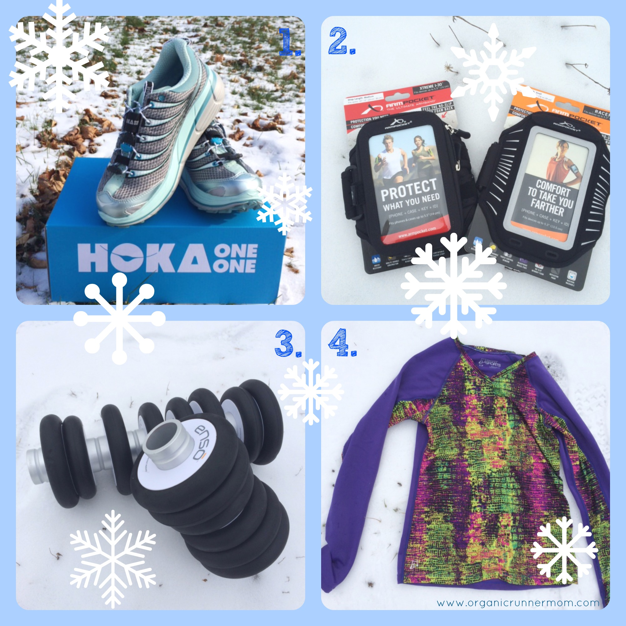 Organic Runner Mom's Holiday Gift Guide Part 1