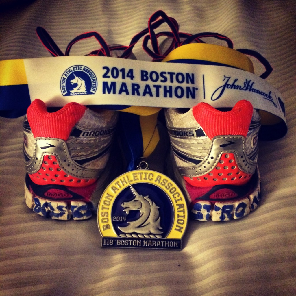 Boston Strong. Organic Runner Mom #BostonStrong