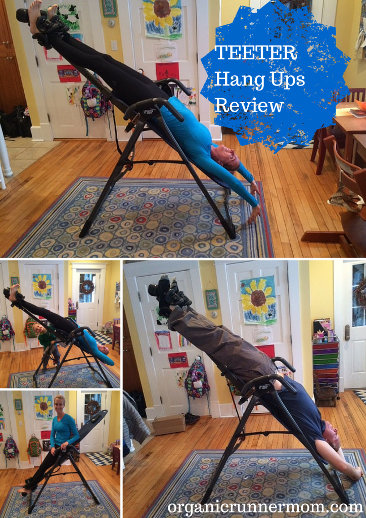 Read to find out how inversions can have positive health benefits and for a review of the TEETER Hang Ups Inversion table