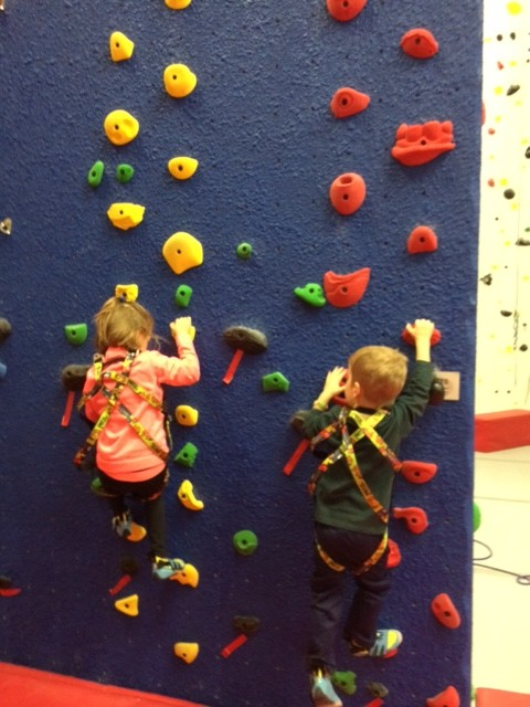 Trying out some bouldering at N3C.