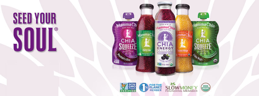 Mamma Chia Seed Your Soul | Organic Runner Mom