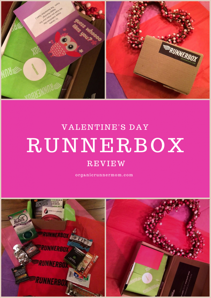 Valentine's Day RUNNERBOX Review | Organic Runner Mom