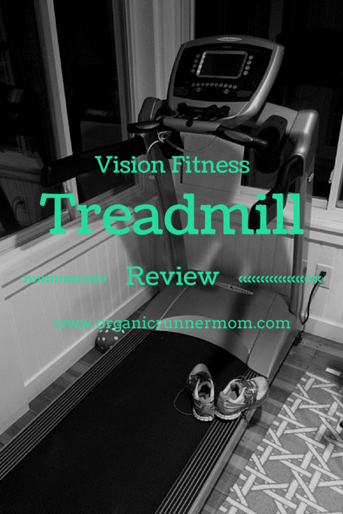 Vision Fitness Treadmill Review | Organic Runner Mom