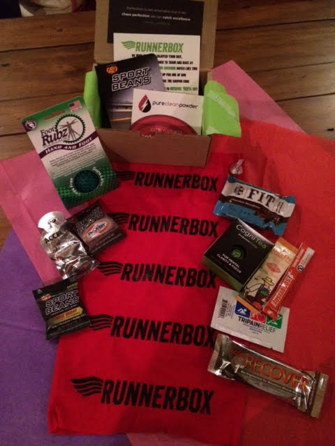 The Valentine's Day RUNNERBOX |Organic Runner Mom