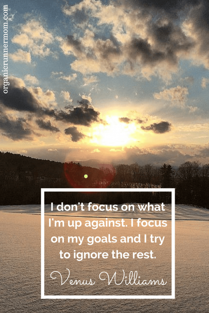 Join me in a discussion about setting goals and refocusing when you get off schedule. | Organic Runner Mom