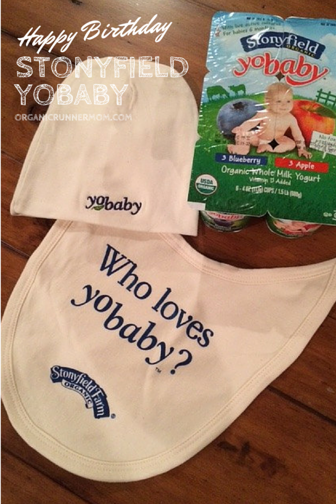 Happy Birthday Stonyfield Yo Baby | Organic Runner Mom