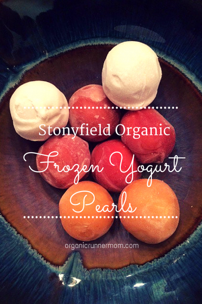 Click here to find out more about new Stonyfield Organic Frozen Yogurt Pearls | Organic Runner Mom