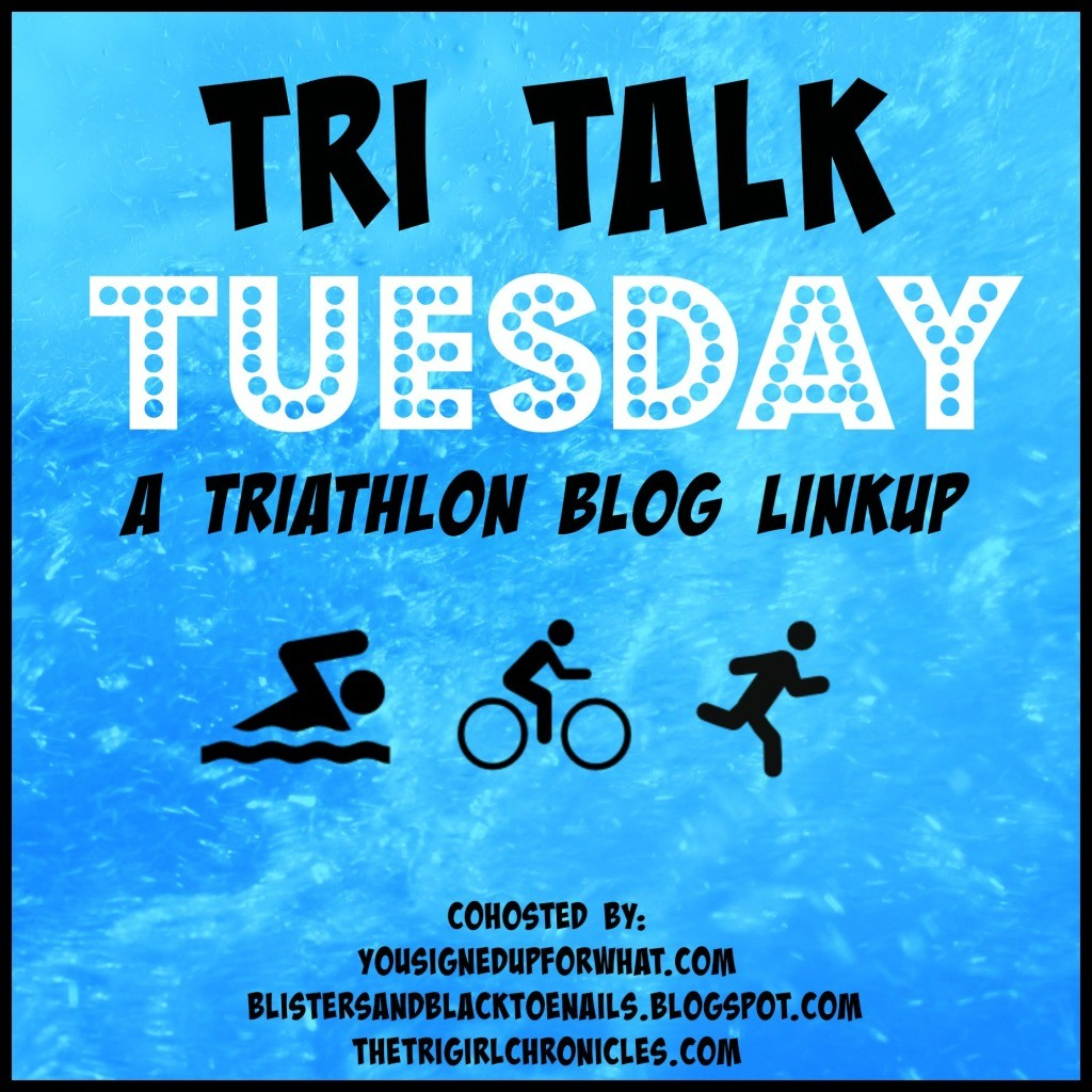 It's Tri-Talk Tuesday. What's happening in triathlon training? Indoor biking |