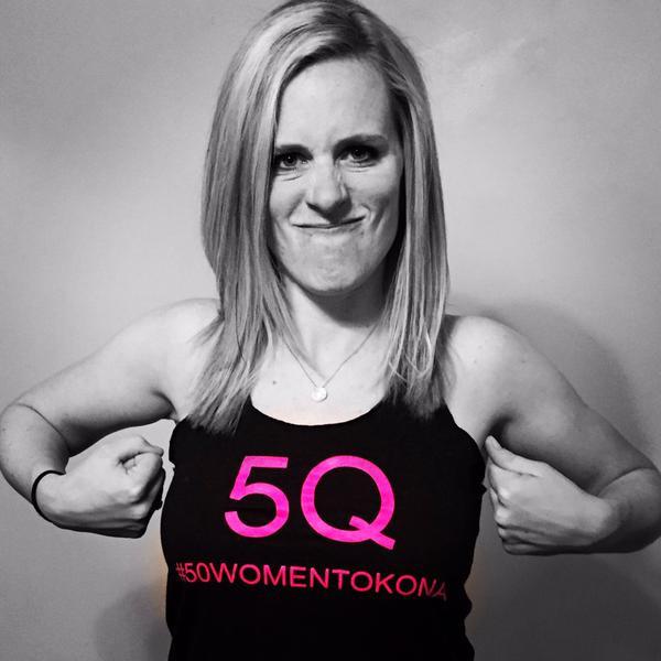 Support 5Q. #50WomenToKona with SMASH