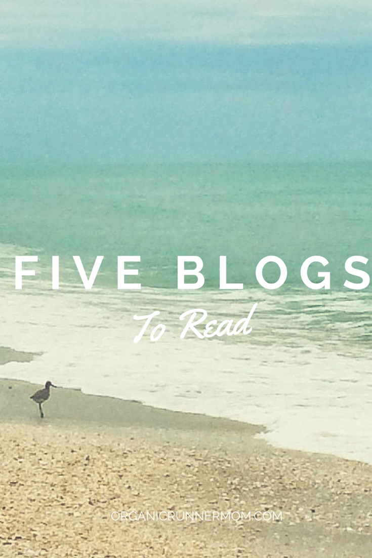 Check out five of my favorite blogs to read.