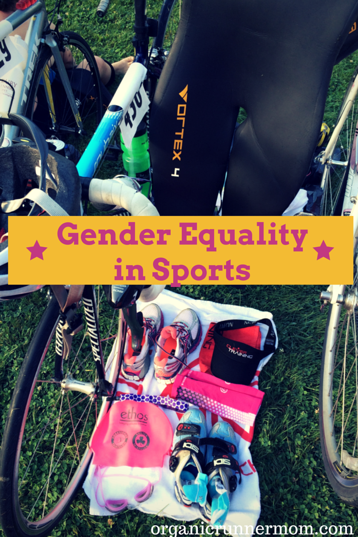Join the discussion about Gender Equality in Sports. #50WomentoKona