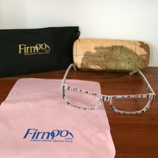 Striped frames from Firmoo.com