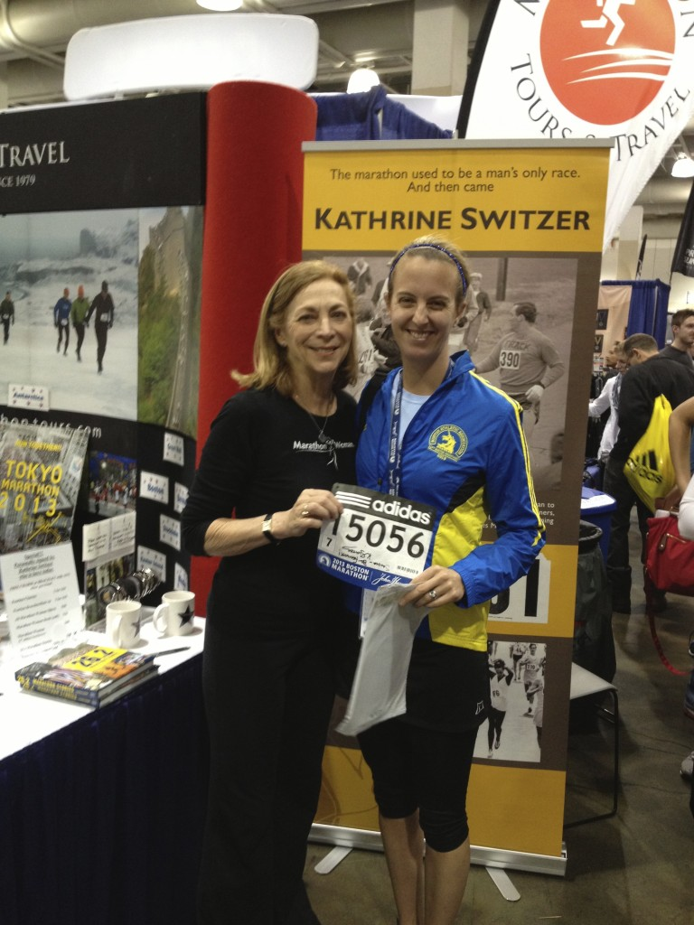 Organic Runner Mom and Kathrine Switzer the Original Marathon Woman