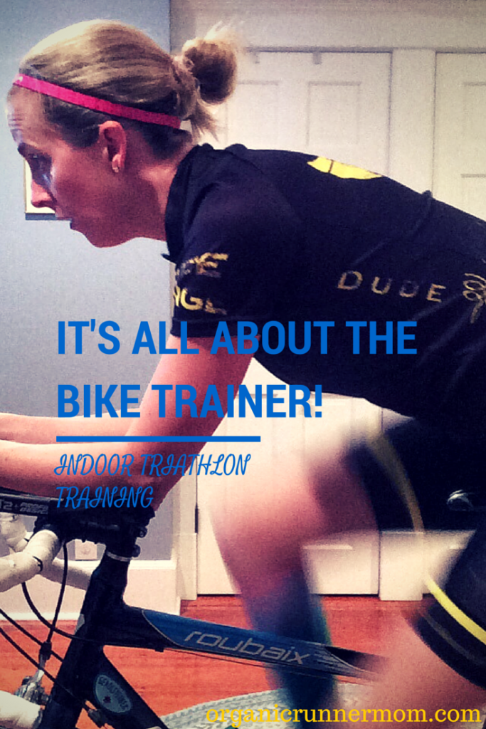 It's All About the Bike Trainer. Surviving a winter of triathlon training indoors. | Organic Runner Mom