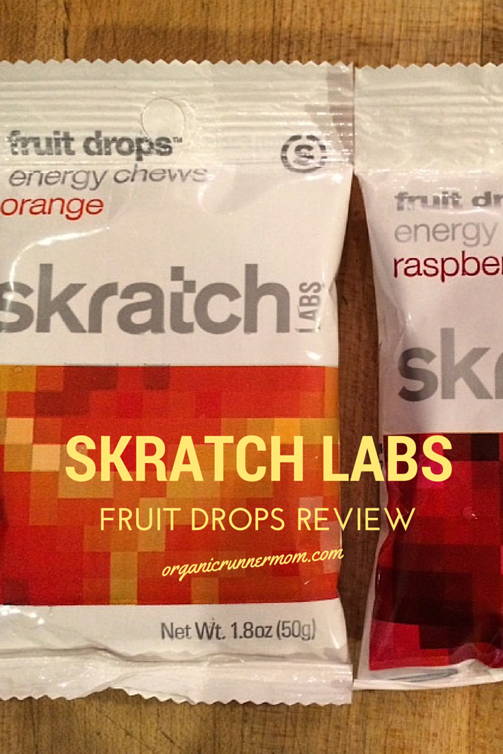 Read more to find out about Skratch Labs Fruit Drops Review - Organic Runner Mom