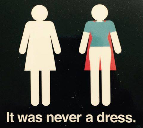 It was Never a Dress! (from itwasneveradress.com)