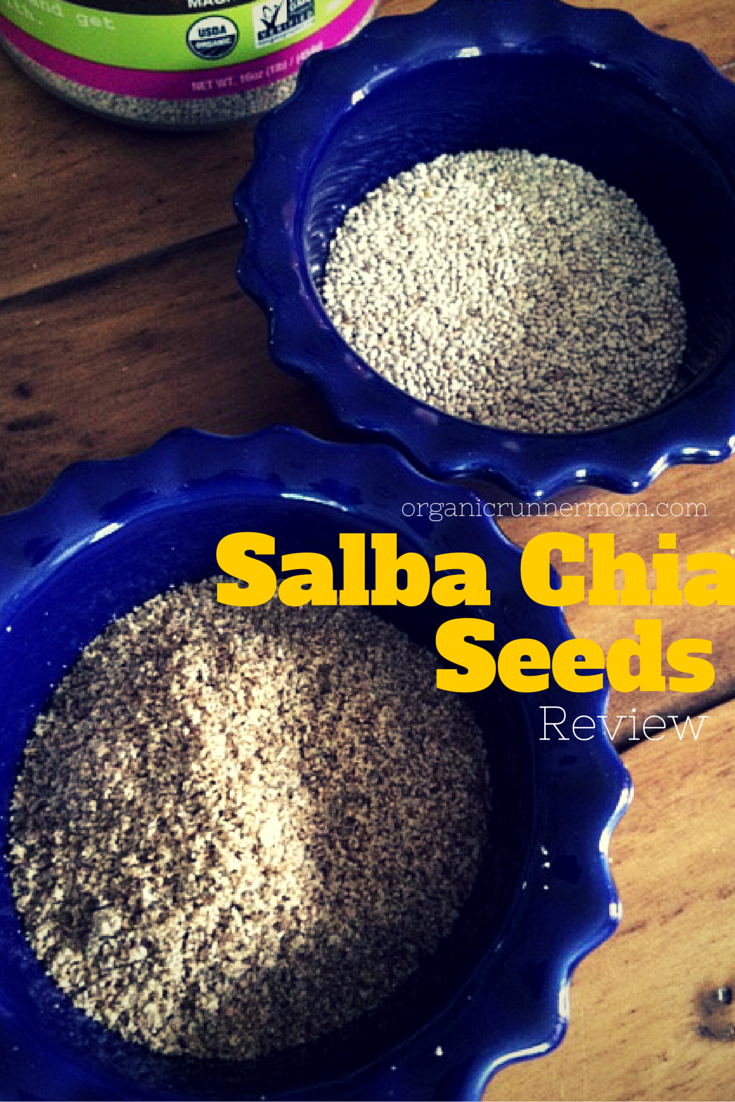 Salba Chia Seeds Review | Organic Runner Mom