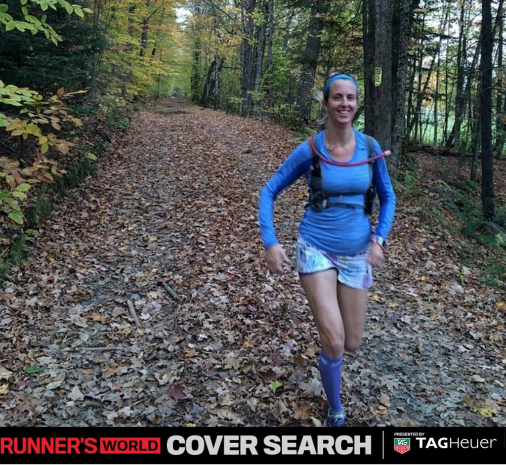 Please vote for me to see me on the cover of Runner's World Magazine. Sandra Laflamme #224