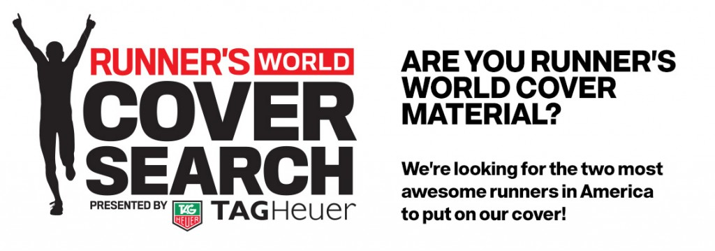 Please Vote For Me! Runner's World Cover Search #224