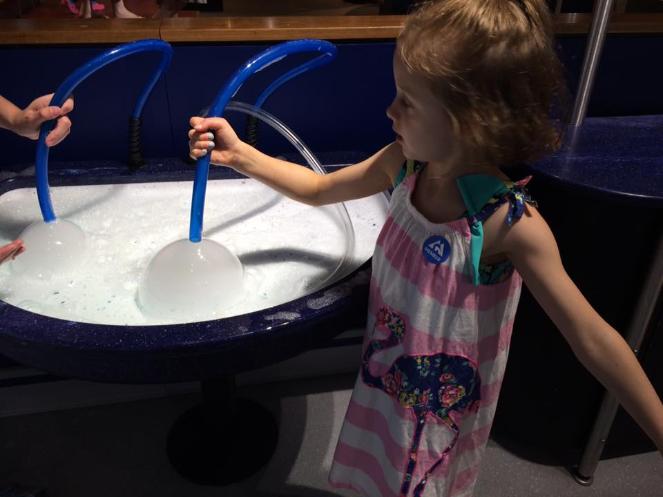Bubble Fun at the Montshire Museum