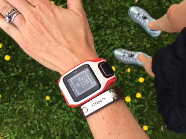 Endrophin Warrior Training Bracelet Strength| Organic Runner Mom