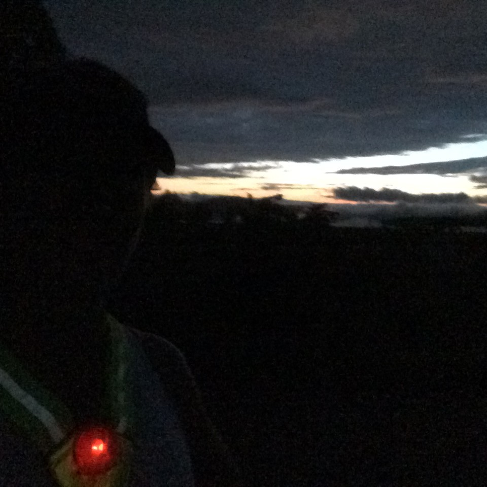 Running in the dark!