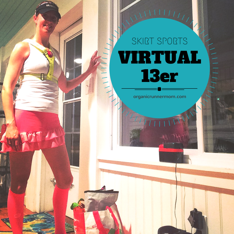 Skirt Sports Virtual 13er | Organic Runner Mom
