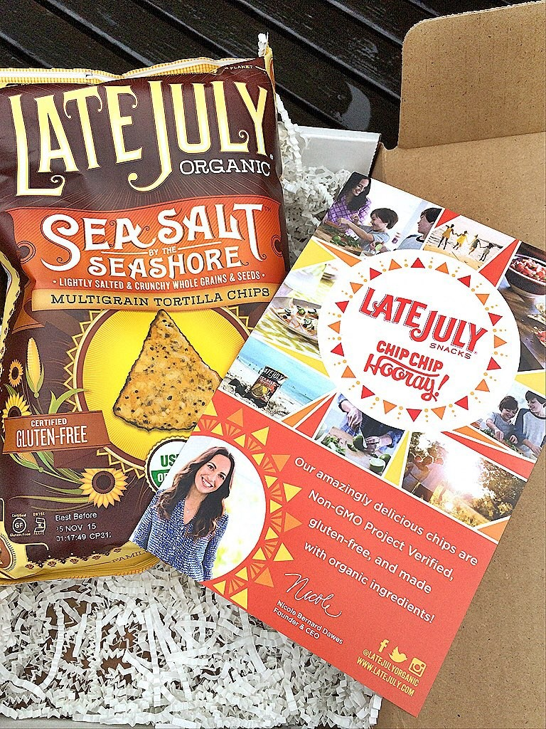 Late July Sea Salt Seashore Multigrain Tortilla Chips