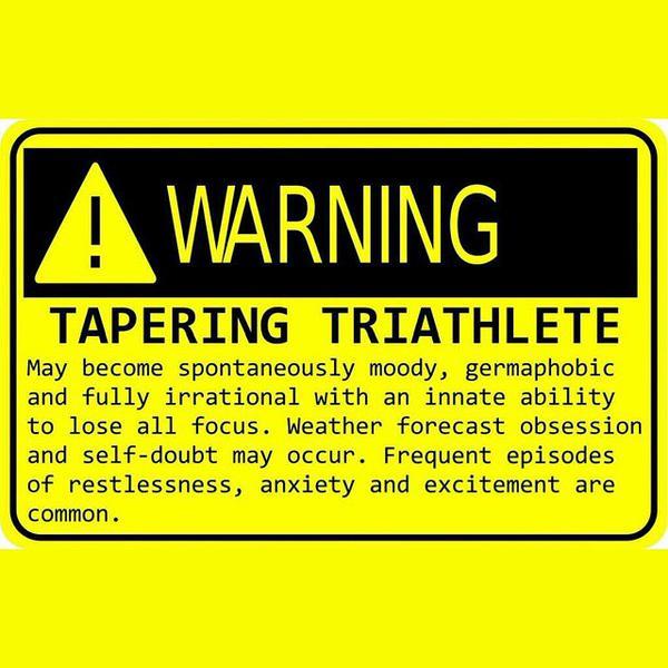 Tapering Triathlete
