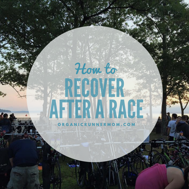 How to Recover After a Race.