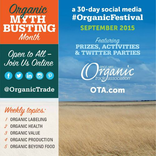 Join the #OrganicFestival