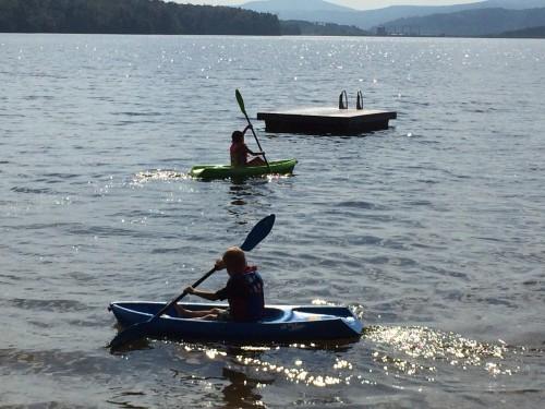 Mini Kayakers!
