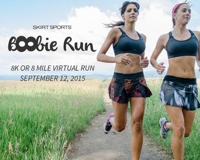Boobie Run with Skirt Sports