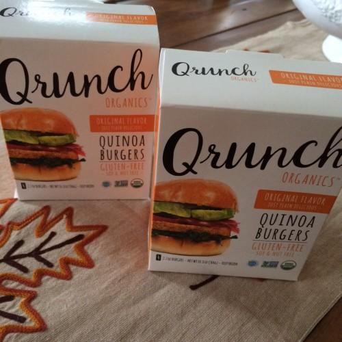 Qrunch Organics Original Flavor Quinoa Burgers