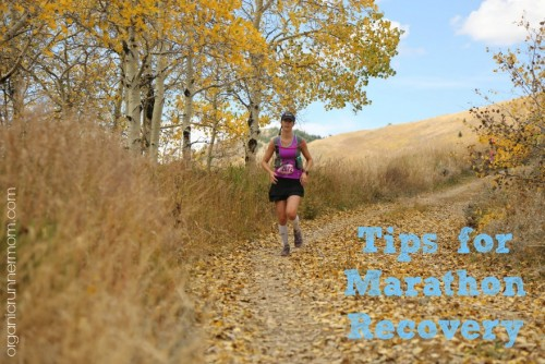 Tips for Marathon Recovery