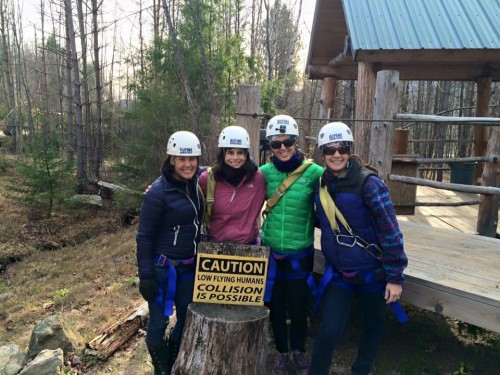 We did it! Zipline Tour complete!