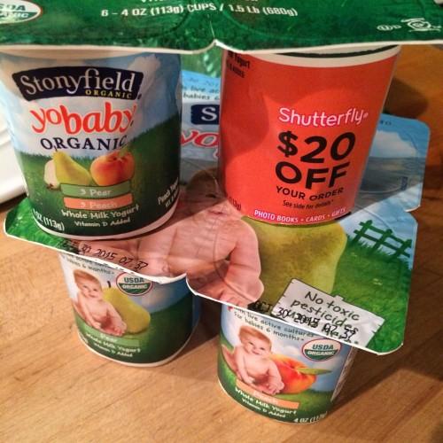 Stonyfield Yogurt and Shutterfly.com